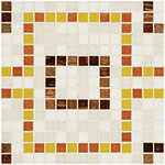 Uncut mosaic repeating pattern TX617