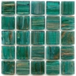 Blue Emerald mosaic tile suitable for pools and waterlines
