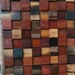 Picture of a reclaimed wood tile from Hakatai
