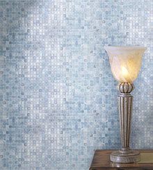 Calliope series glass mosaic tile