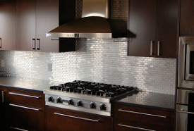 Metal series tile