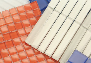 Horizon glass tile