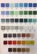 "Classic 3/4"" Sample Board shows colors in tile line"