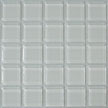 Image of SL001 Sea Salt a white glass tile edge piece