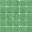 CartGlass Bright Green vitreous tile