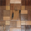 Image of wood tile that is suitable for backsplashes, wall tile or accent tile