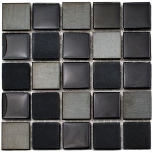 Raven Blend, shop glass tile, glossy tile, smooth glass tile