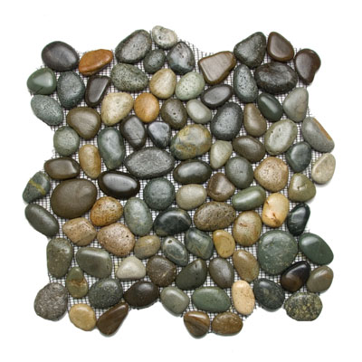 Glazed Chateau River Stone