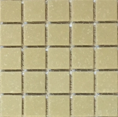 Malt is a light brown vitreous glass tile