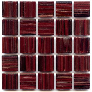 dark maroon mosaic tile for craft and mosaic projects