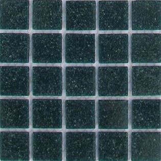 Aquamarine vitreous glass tiles