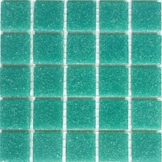 Mint green vitreous glass tile in loose bags for purchase