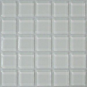 Picture of SL001, white glass tile liner from Hakatai's Select Series