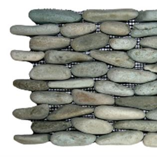 Green Standing Stone Border
