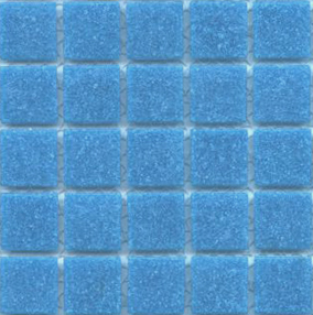 Image of Cartglass Lake blue glass tile