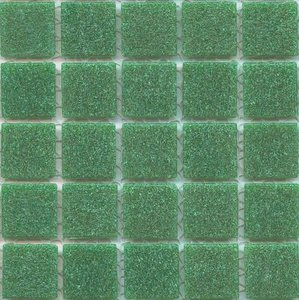 Jade glass tile is a vitreous glass tile