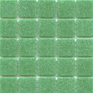 Bright Green mosaic craft project tiles