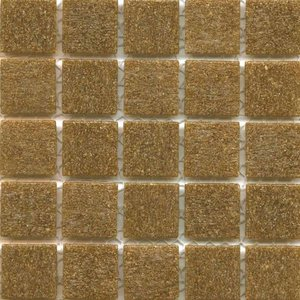 Oak vitreous brown colored tile