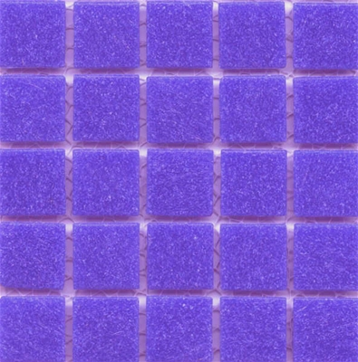 Lilac craft tiles for mosaic art projects