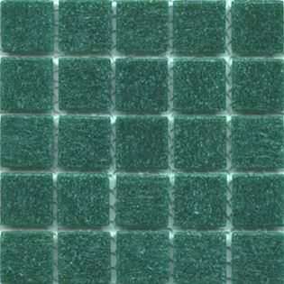 Emerald green vitreous tile for mosaic art