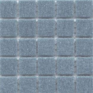 Cartglass Pale Denim is a blue vitreous glass tile