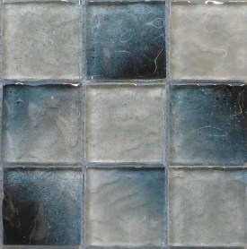 Aural series glass mosaic tile
