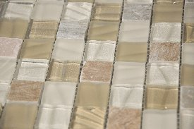 Rogue series glass mosaic tile