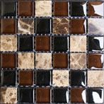 Horizon series glass and stone blends