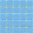 Sky Blue vitreous 3/4 inch square tile