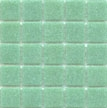 Cartglass vitreous glass tile in Ice Green color